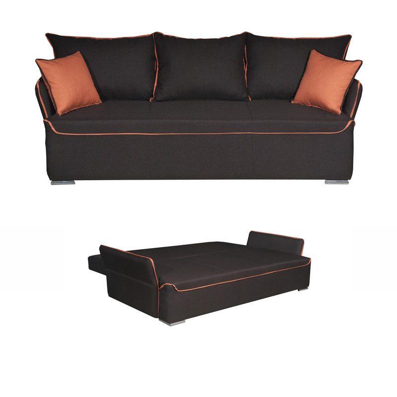 Έπιπλα-Artikia-Καναπές-Κρεβάτι-Bristol-Καφέ-Brand-Fylliana