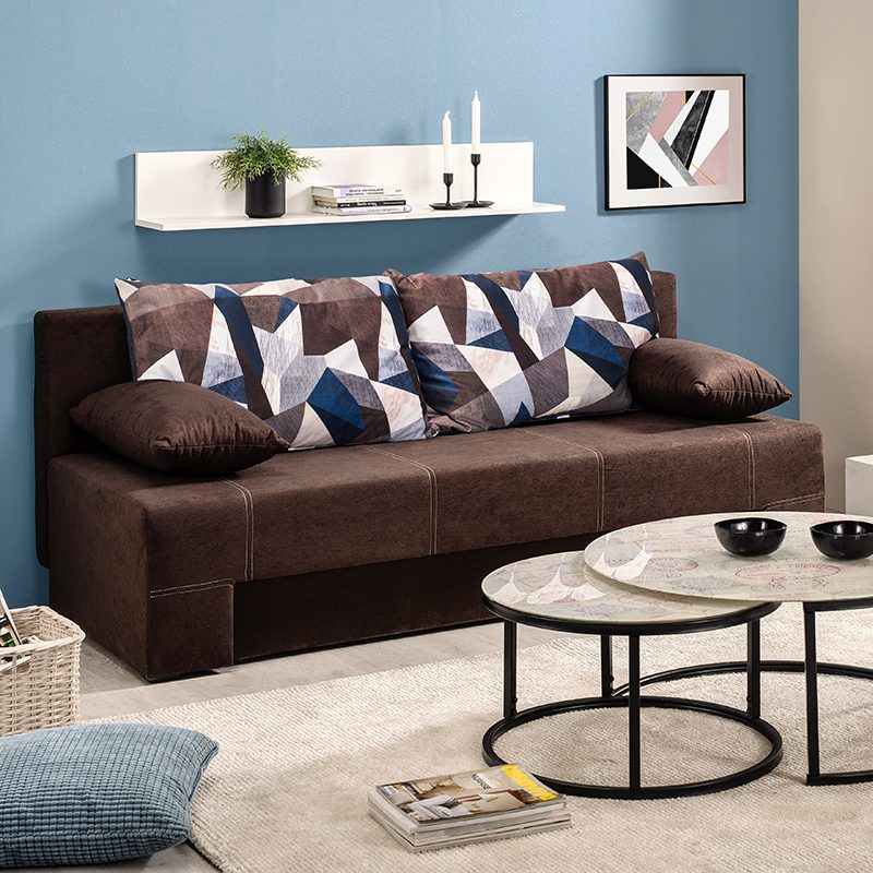 Έπιπλα-Artikia-Καναπές-Κρεβάτι-Teo-Καφέ-Brand-Fylliana 3