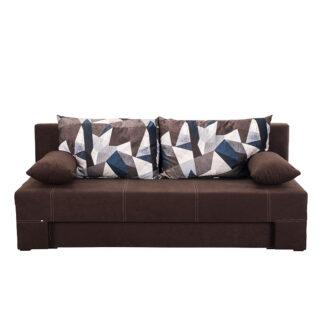 Καναπές κρεβάτι Teo Καφέ , Fylliana έπιπλα