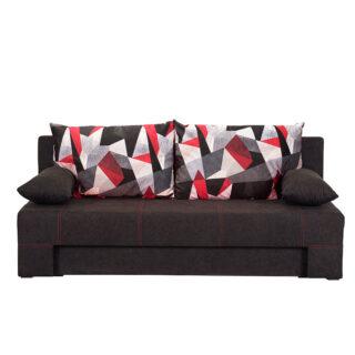 Καναπές κρεβάτι Teo Μαύρος , Fylliana έπιπλα