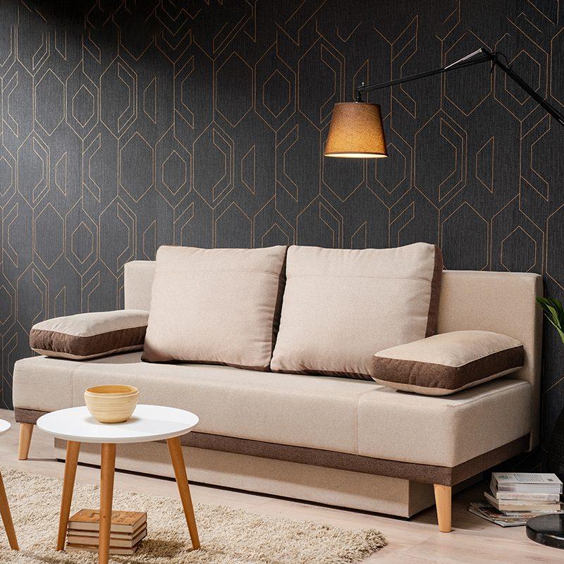 Έπιπλα-Artikia-Καναπές-κρεβάτι-Aspen-Μπέζ-Καφέ-Brand-Fylliana 3