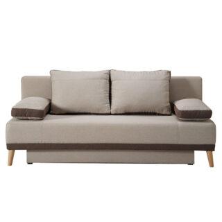 Καναπές κρεβάτι Aspen Μπέζ Καφέ , Fylliana έπιπλα