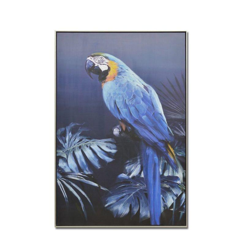 Έπιπλα Artikia Blue Popinjay Πίνακας διακοσμητικός Brand Maison