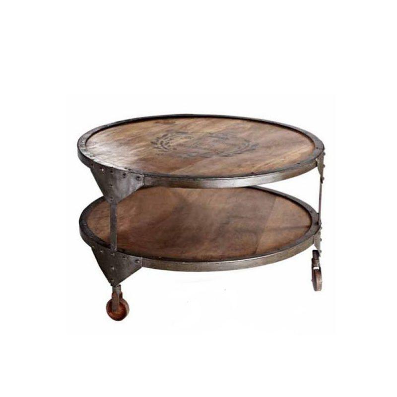 Έπιπλα Artikia Rustic Coffee Table Φυσικό Brand Maison